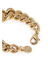 Ela Stone | Metallic 'editha' Graduated Chain Bracelet | Lyst