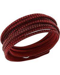 Swarovski Red Slake Bracelet