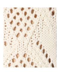 Miu Miu - Natural Wool and Alpaca Sweater - Lyst