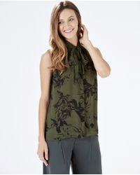 Parker | Green Brantling Combo Top | Lyst