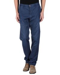 Incotex | Blue Casual Trouser for Men | Lyst