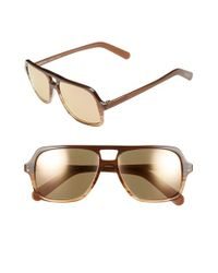 Randolph Engineering - Brown 'norwich' 56mm Sunglasses for Men - Lyst