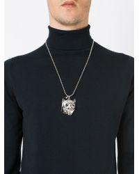 Philipp Plein - Metallic 'united' Necklace - Lyst