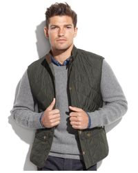 Barbour | Green Lowerdale Quilted Vest for Men | Lyst