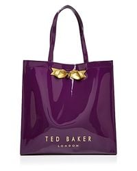 Ted Baker | Pink Tote - Tedcon Icon | Lyst