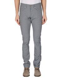 Siviglia - Gray Casual Pants for Men - Lyst