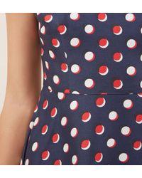 Hobbs - Red April Dress - Lyst
