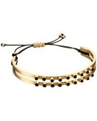 Marc By Marc Jacobs - Metallic Dainty Cabochon Cinch Bracelet - Lyst