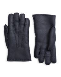 Brooks Brothers | Blue Shearling Gloves for Men | Lyst
