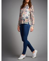 Numph Multicolor Tessa Printed Shirt