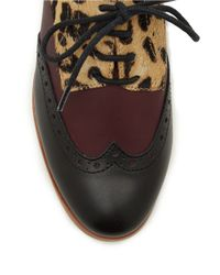 Dolce Vita | Multicolor Adderly Suede Oxfords | Lyst