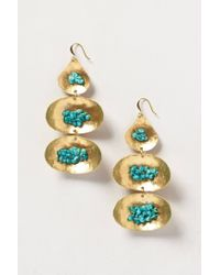 Anthropologie | Blue Velella Earrings | Lyst