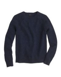 J.Crew Blue Donegal Wool Sweater for men