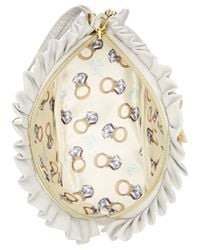 Betsey Johnson | White Blue By Cosmetics Case | Lyst