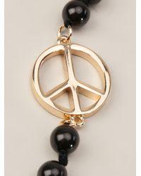 Paul Smith | Black Peace Necklace | Lyst