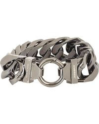 Ambush | Gray Flat Curb-Chain Bracelet for Men | Lyst