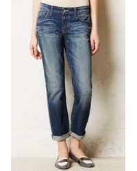 Anthropologie Blue Pilcro Hyphen Relaxed Jeans