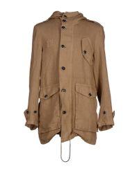 Barena | Natural Full-length Jacket for Men | Lyst