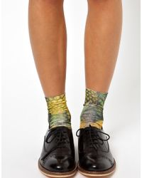 ASOS - Multicolor Pineapple Printed Ankle Socks - Lyst