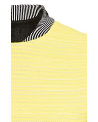 Alexander Wang - Yellow Thunderbolt Cycling Tank with Graphic Mock Neck - Lyst