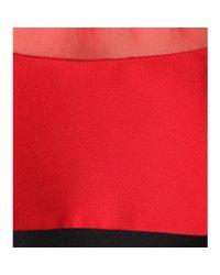 Valentino Black Wool And Silk Dress