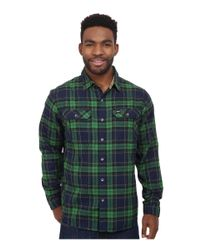 Under Armour | Green Borderland Flannel for Men | Lyst