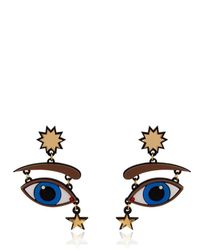 Yazbukey - Multicolor Fortune Teller Collection Earrings - Lyst