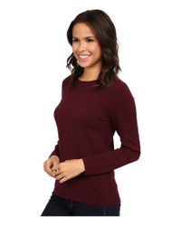 Pendleton | Red Jewel Neck Pullover | Lyst