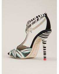 Sophia Webster - White 'flamingo' Sandals - Lyst