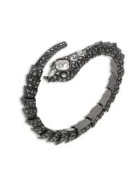 Kenneth Jay Lane | Multicolor Hematite Snake Bracelet | Lyst
