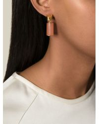 Wouters & Hendrix | Pink Cylinder Earrings | Lyst