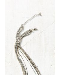 Urban Outfitters - Metallic Shannons Layering Necklace - Lyst