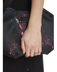 Alexander McQueen | Metallic Silver Tone Double Acorn Ring | Lyst
