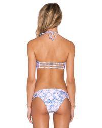 Somedays Lovin - Multicolor Easy Rider Bandeau Bikini Top - Lyst