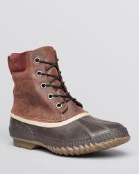 Sorel Brown Cheyanne Waterproof Boots for men