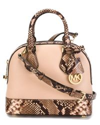 MICHAEL Michael Kors | Pink Small 'smythe' Tote | Lyst