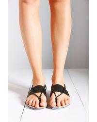 Dolce Vita Black Kalliope Elastic Sandal