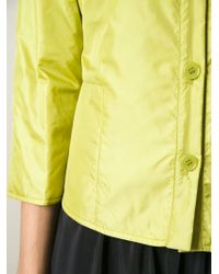 Aspesi - Green Mandarin Collar Jacket - Lyst