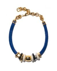 Lizzie Fortunato | Blue Treasure Necklace In Surf | Lyst