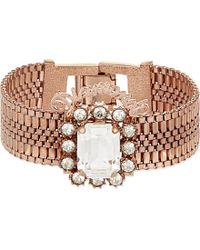 Mawi | Pink Diamonds Crystal Bracelet - For Women | Lyst