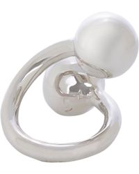 Jennifer Fisher | Metallic Large Double Ball Ring | Lyst