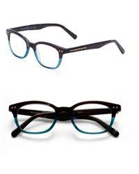 kate spade new york | Blue Rebecca 49mm Reading Glasses | Lyst