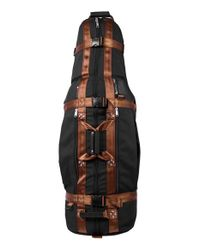 Club Glove Black 'trs Ballistic Last' Golf Travel Bag for men