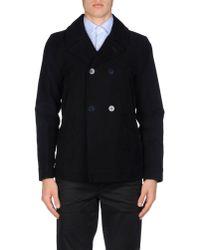 M. Grifoni Denim Blue Full-length Jacket for men