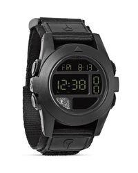 Nixon - The Baja All Black Watch, 50Mm - Lyst