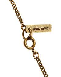 Isabel Marant Orange Beaded Tassel Necklace