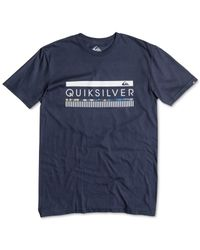 Quiksilver | Blue In The Zone Graphic T-shirt for Men | Lyst