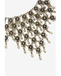 Nasty Gal - Metallic Imperial Chain Necklace - Lyst