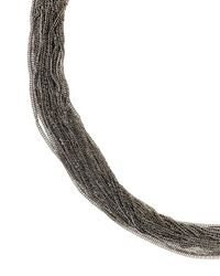 Jaeger | Metallic Delicate Row Necklace | Lyst