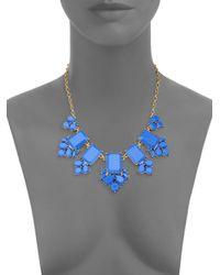 Kate Spade | Metallic Daylight Jewels Bib Necklace | Lyst